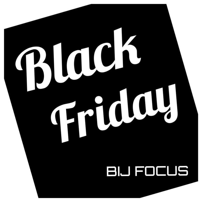 Black Friday actie