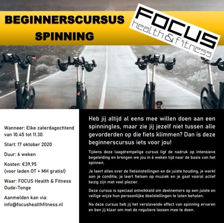 Beginnerscursus Spinning