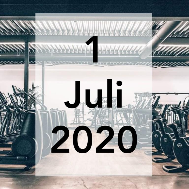 1 juli 2020.1