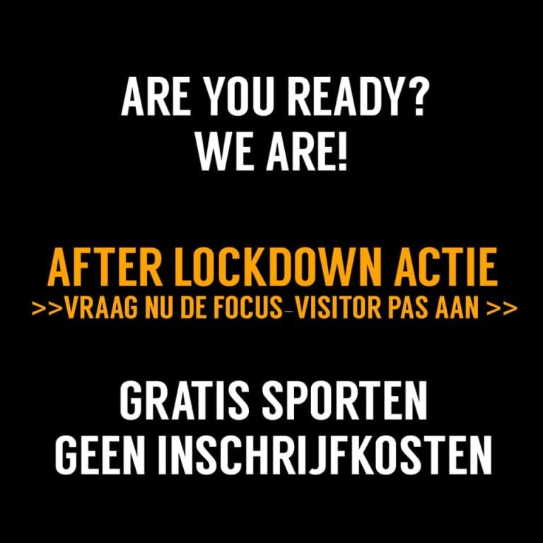 After Lockdown Actie